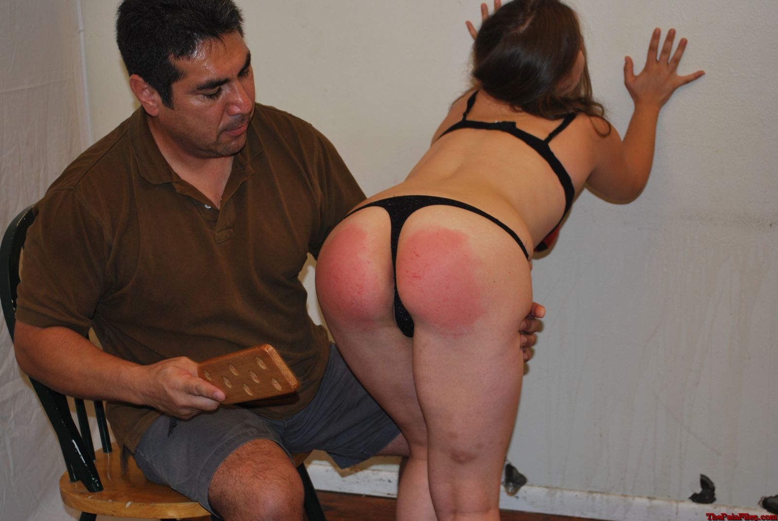 Adult spank punishment