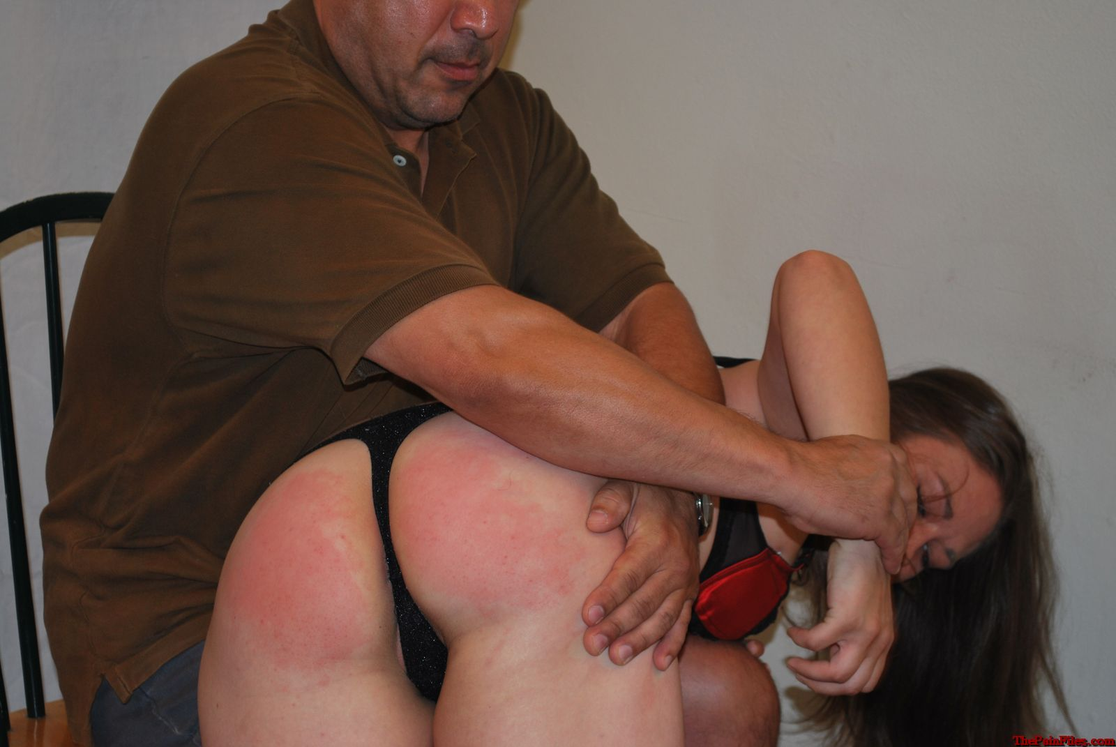 Hand bare bottom spanking free clips