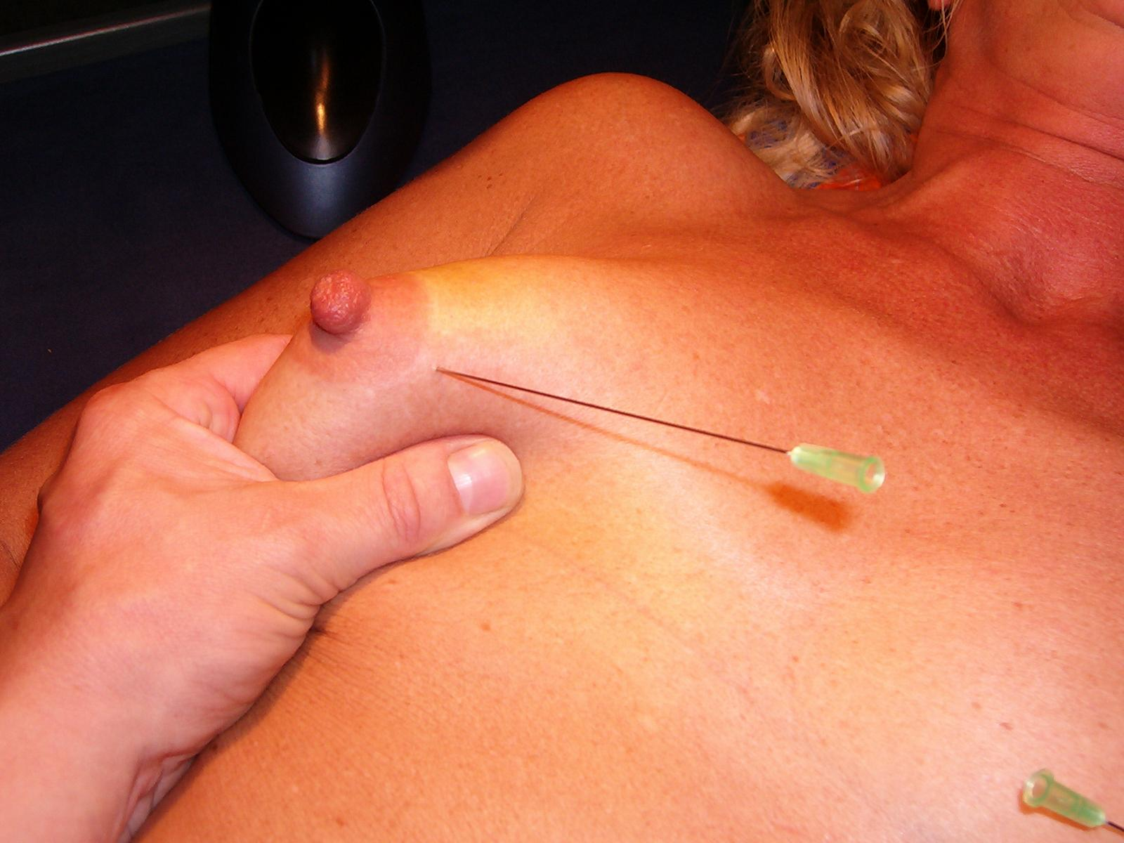 Breast Torture With Needles - HEAVY-R