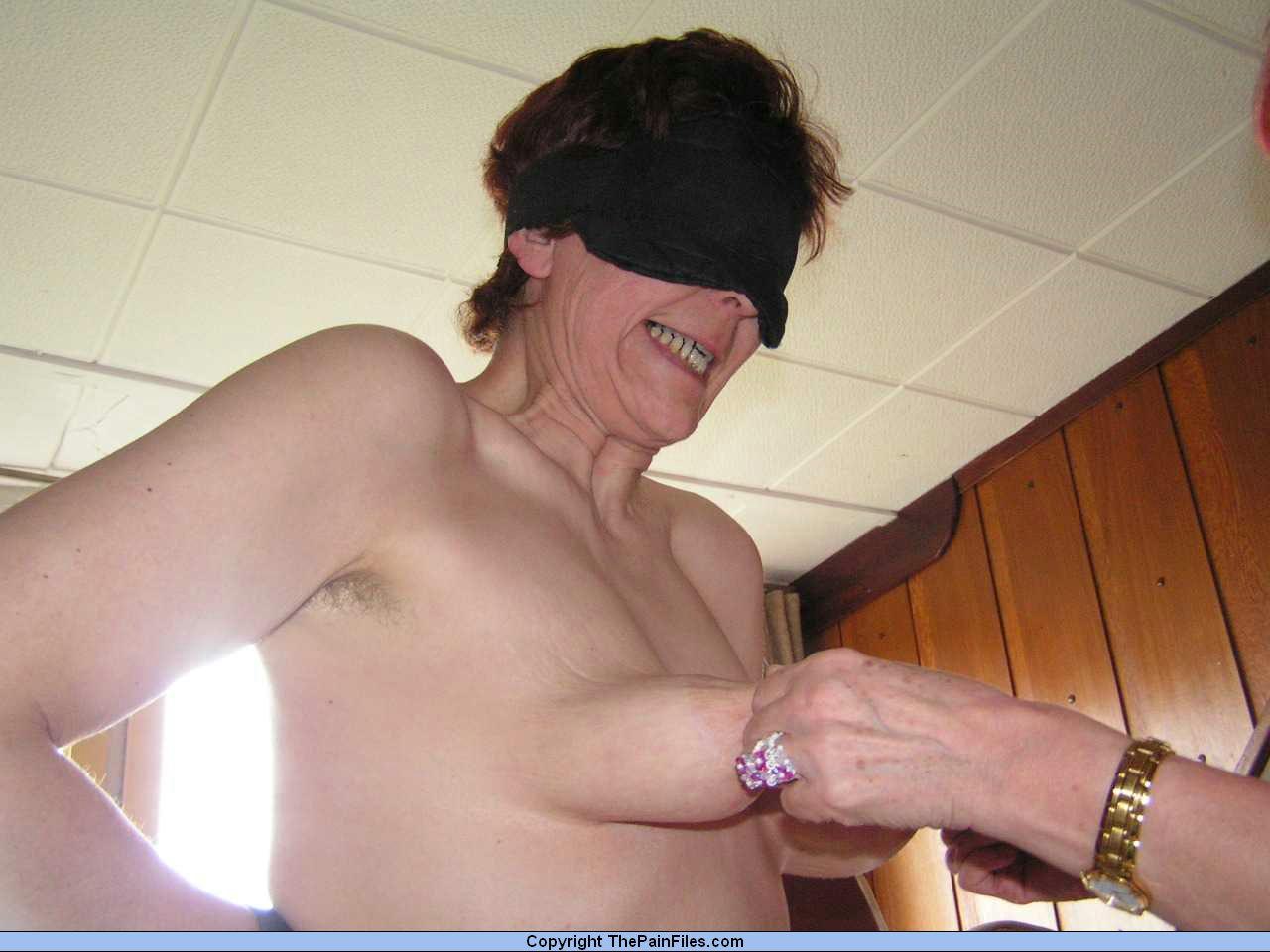 Body spank pain granny this