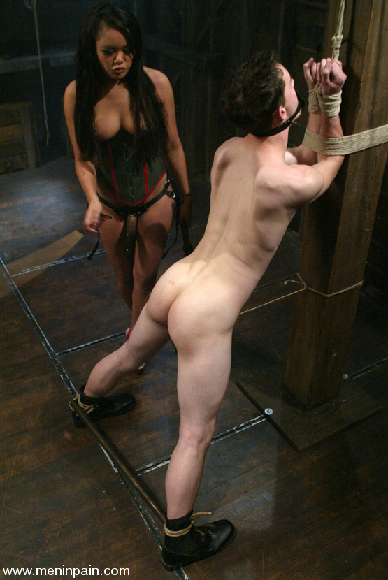 Yourself both bondage domination man naked pain