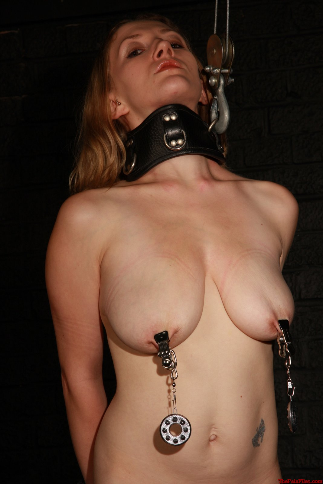 bondage Tied nipple
