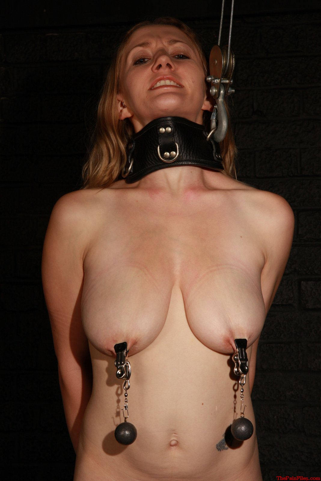girl nipple pain Slave
