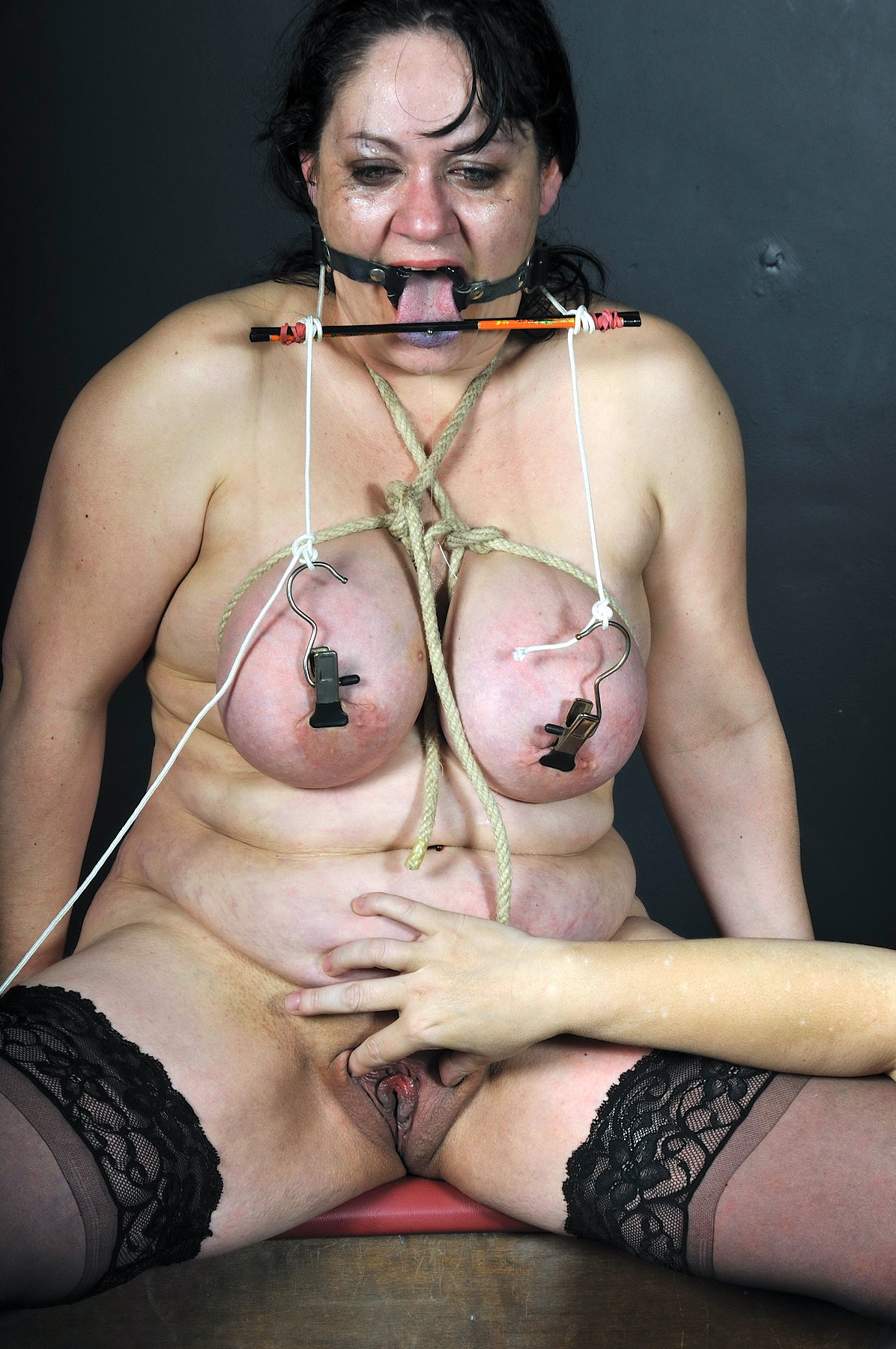 Idea bdsm older woman tortures slave story can speak
