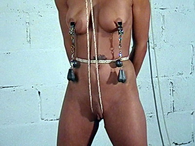 Big tit punishment and extreme bdsm for kinky fetish slavegirl Danii Black from The Pain Files