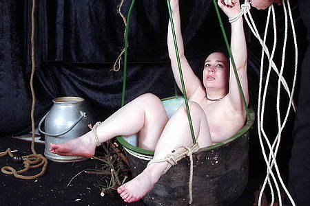 Medieval bdsm slavegirl needle pain and punishment from The Pain Files