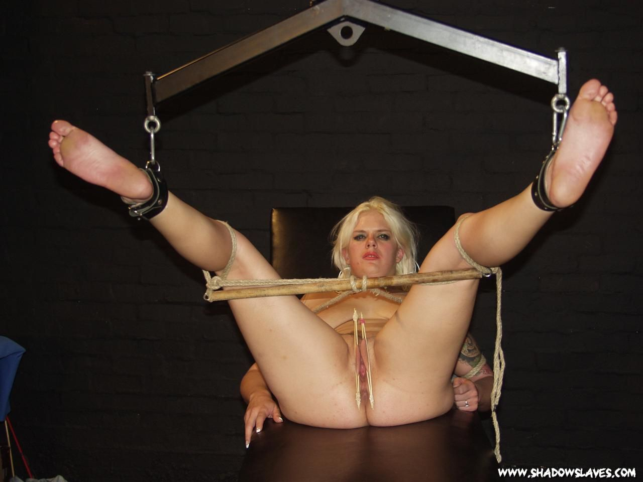 Gagged amateur slaves sextoy domination and