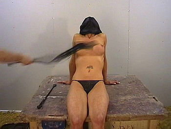 Busty british slavegirl in kinky fetish and extreme breast whipping pain from The Pain Files