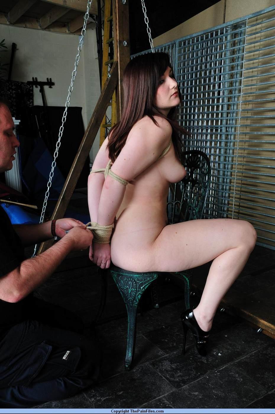 Lingerie bondage xxx kinky birthday desires