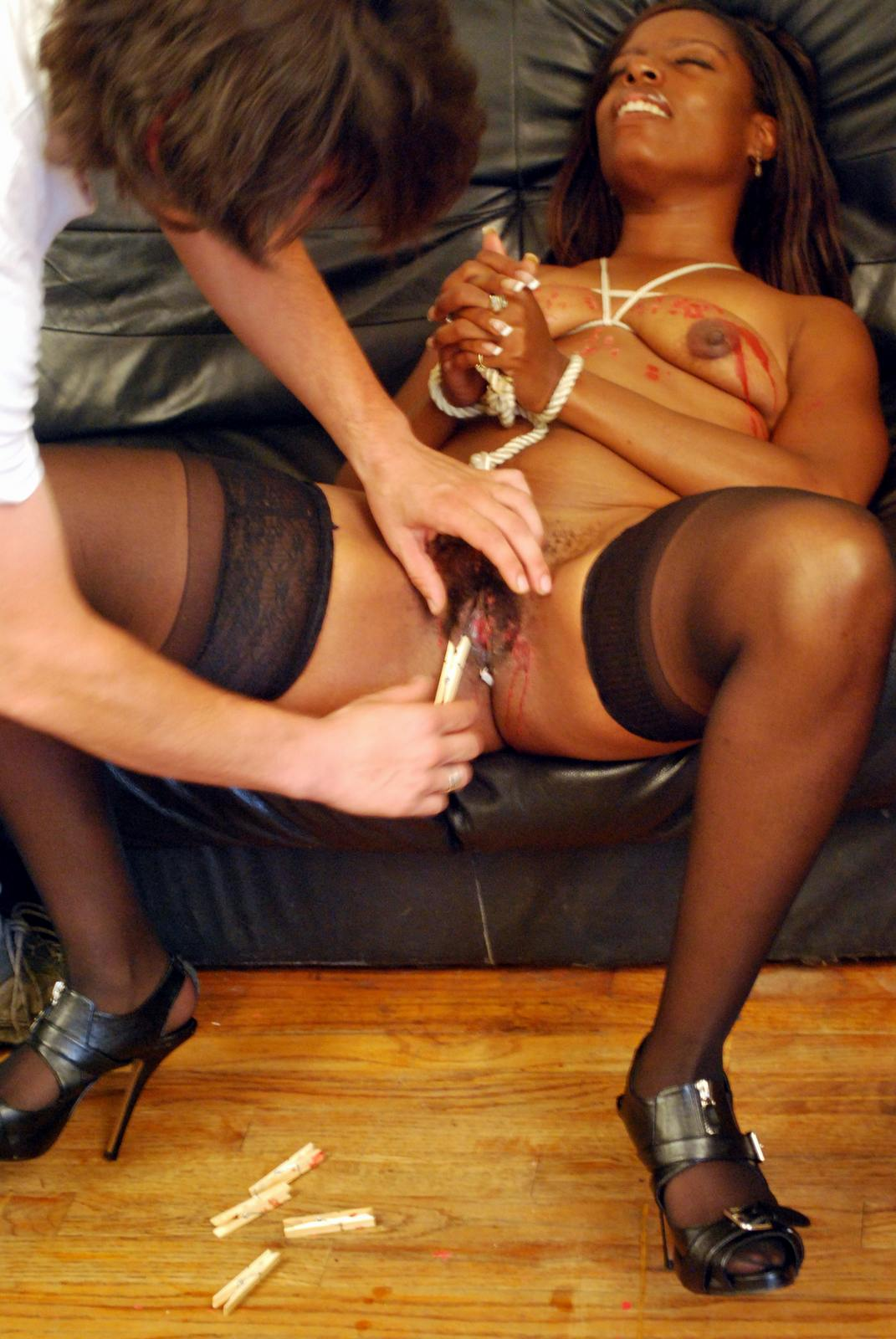 Whipped ebony bound and