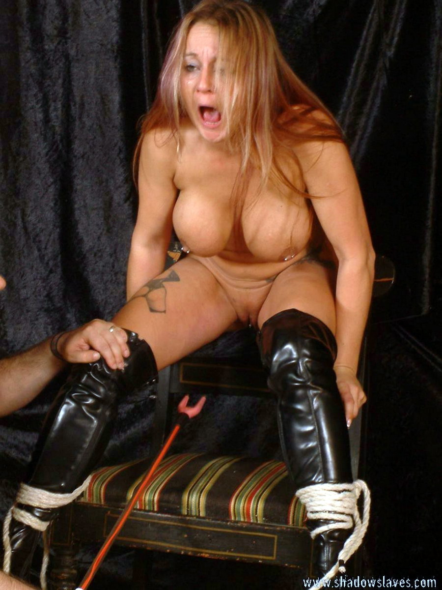 Electro shocked bondage gym bdsm Gina