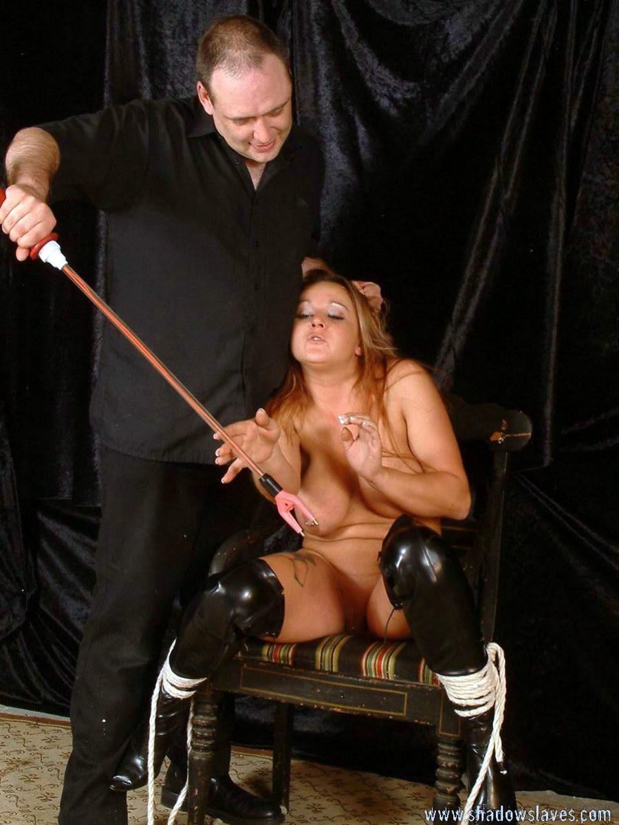 Extreme slave training gina valentina gets 4