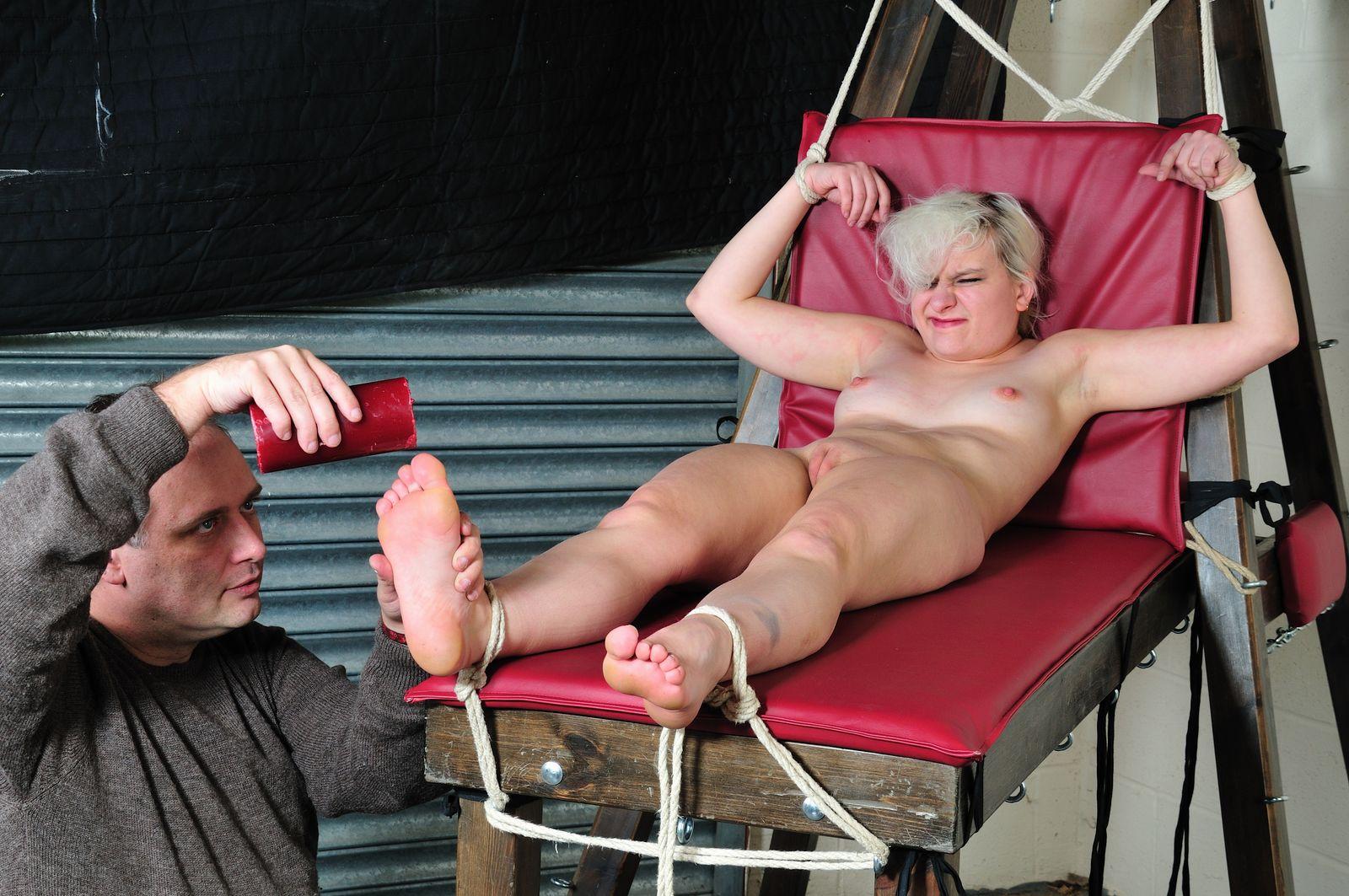 foot fetish bondage video