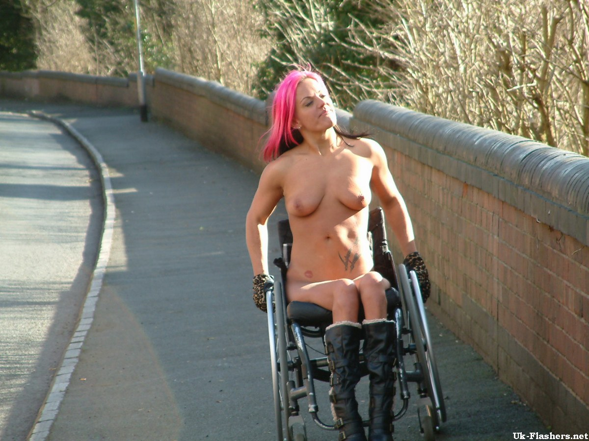 Necessary words... nude paraplegic photos