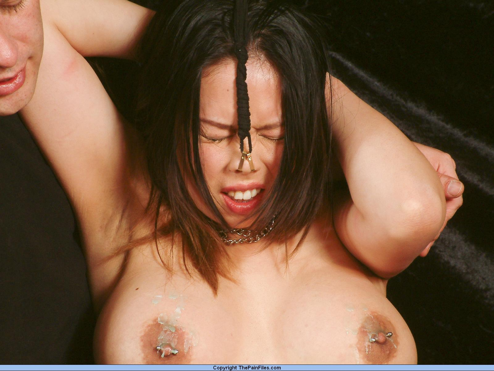 Japanese bdsm nipple