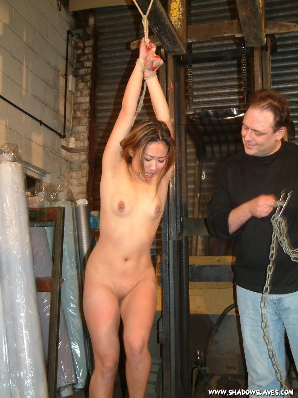Femdom electric shock torture