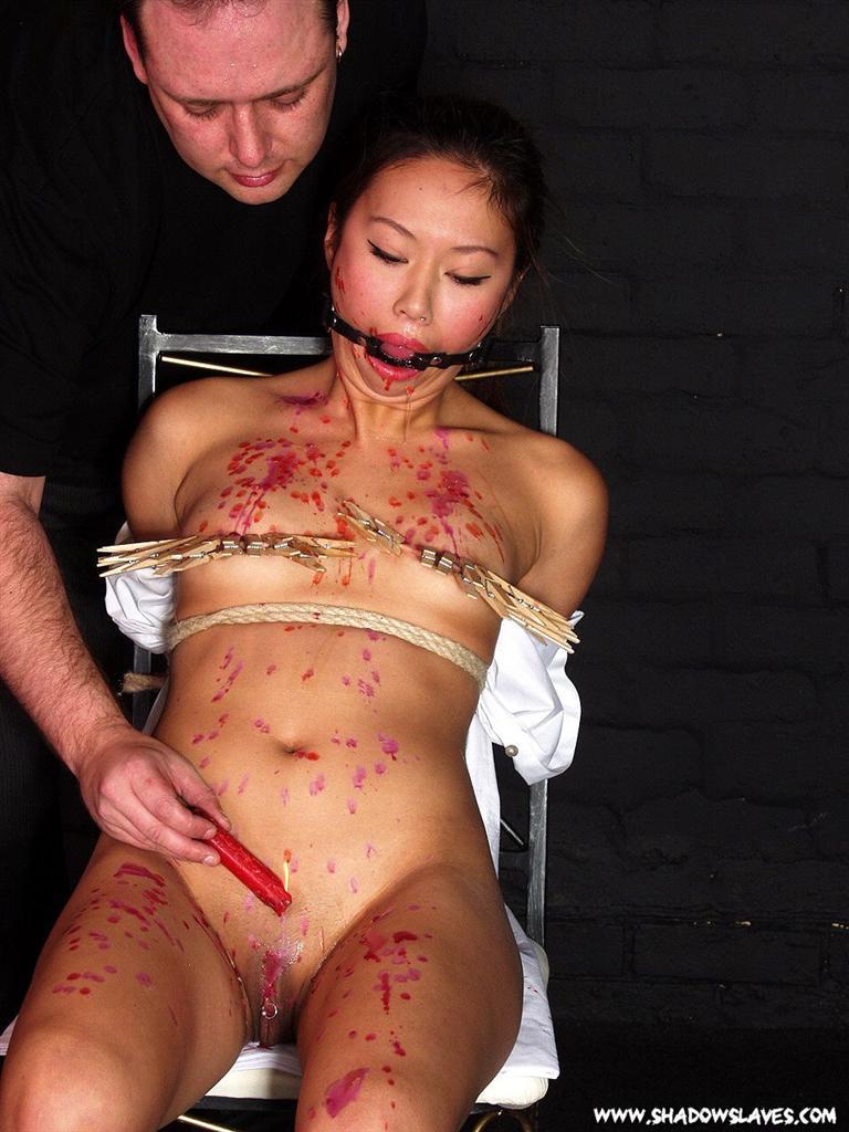 Asian nipple torture