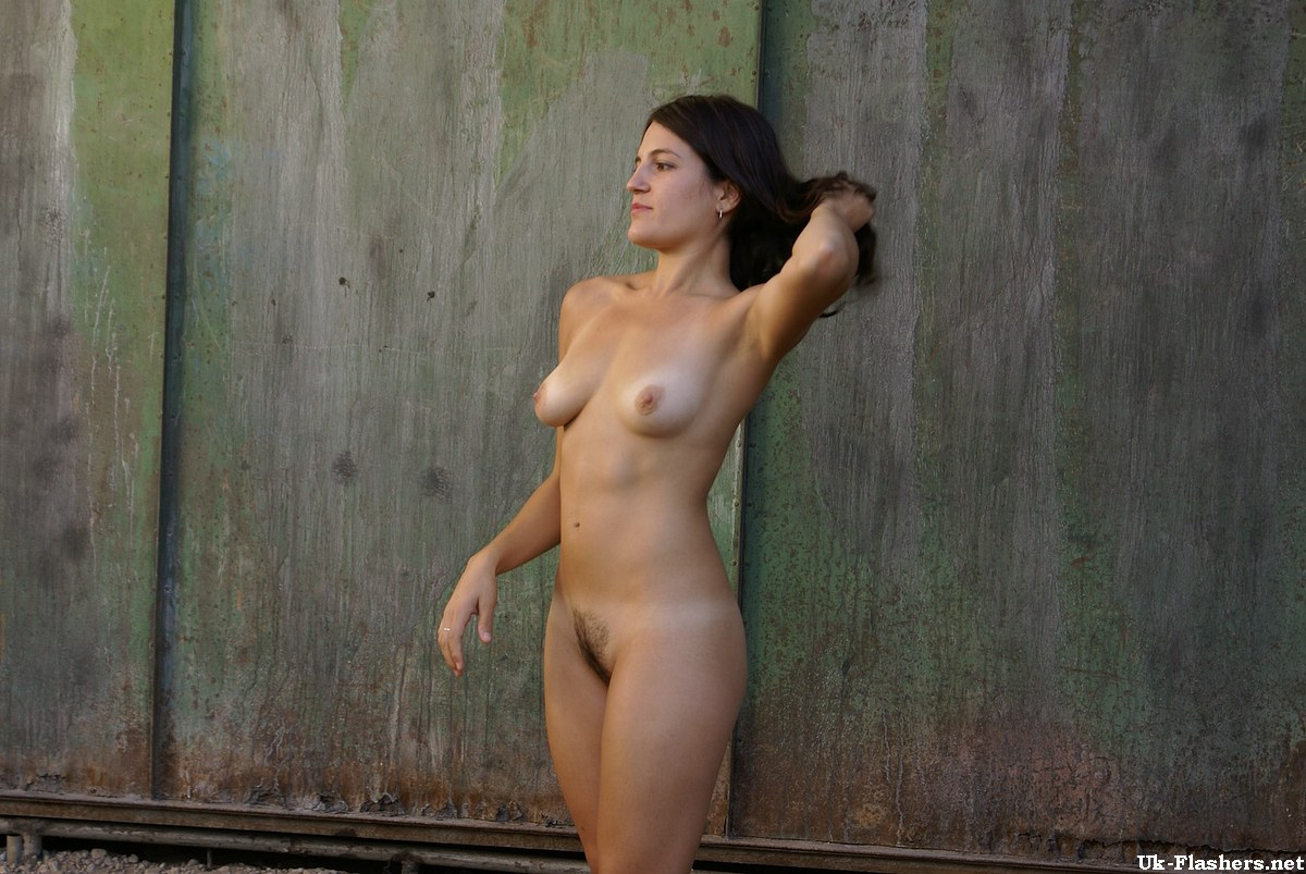 Adult amateur exhibitionist