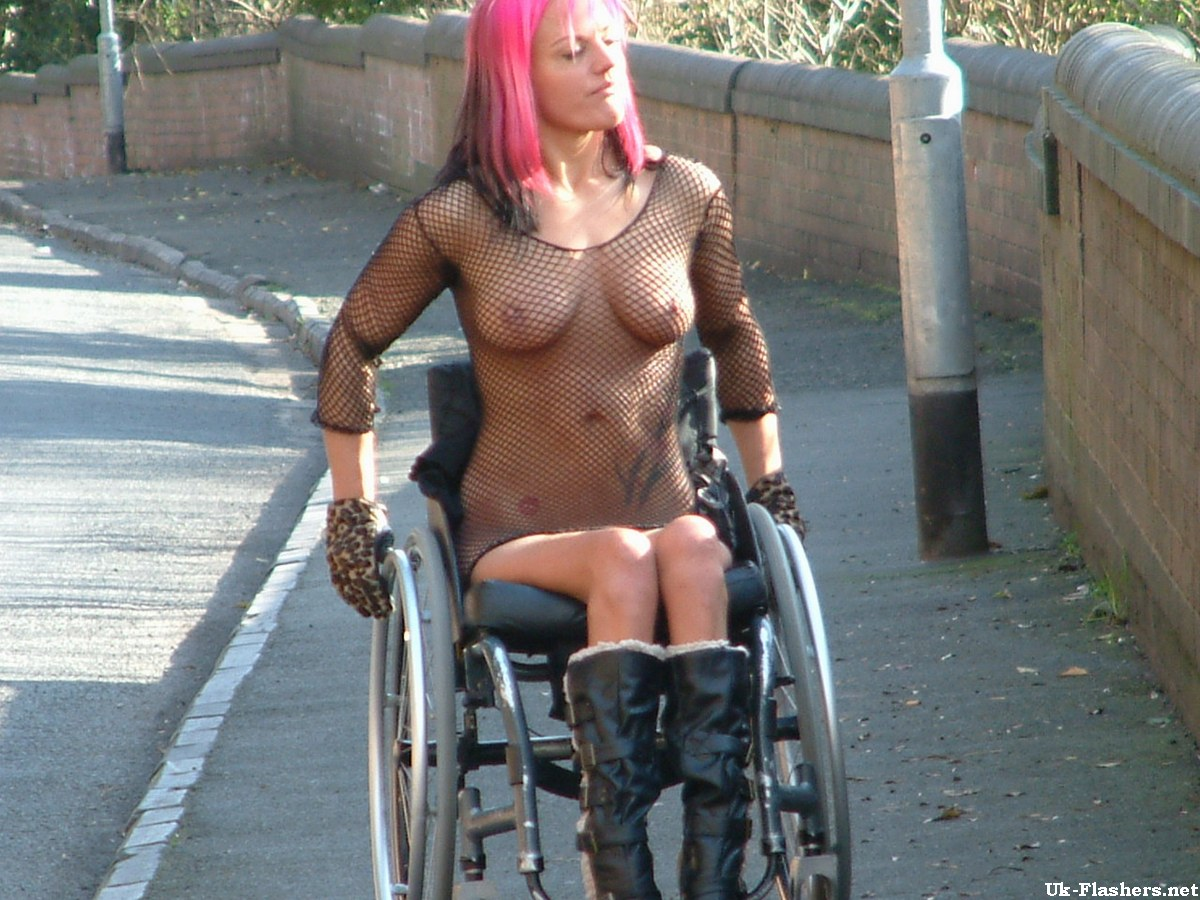 naked girls in wheelchair