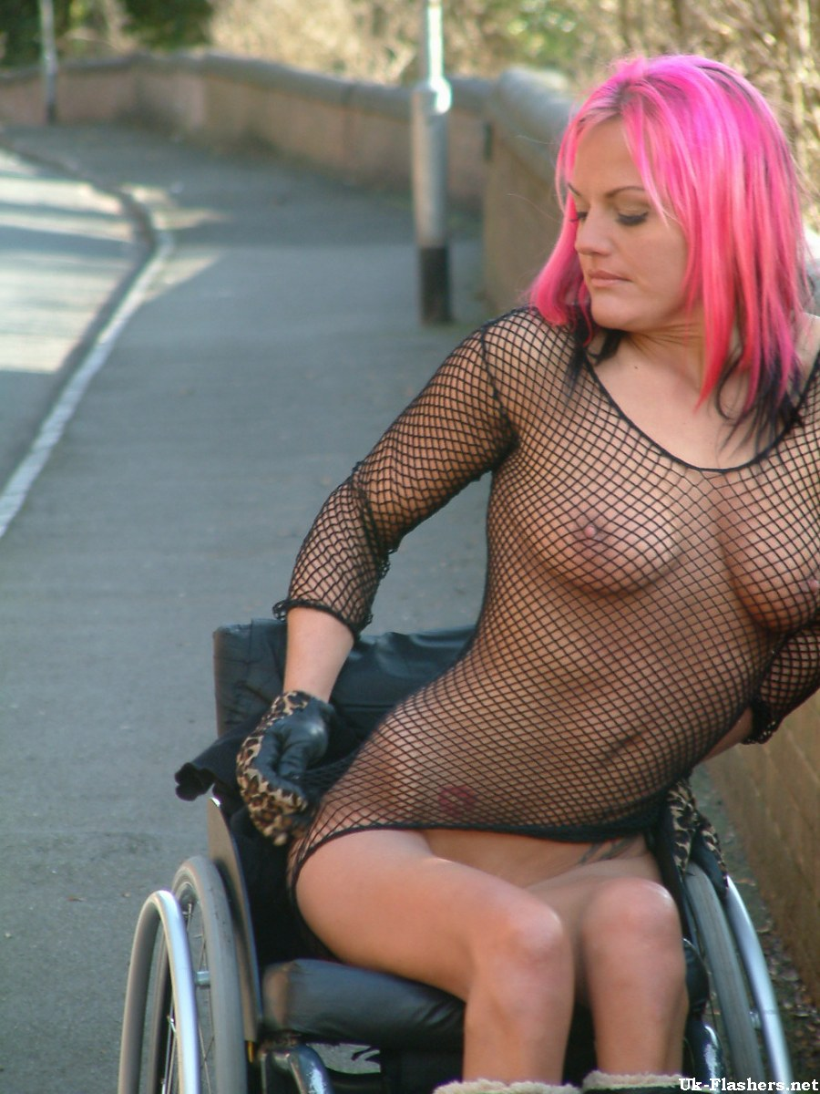Naked wheelchair women opinion