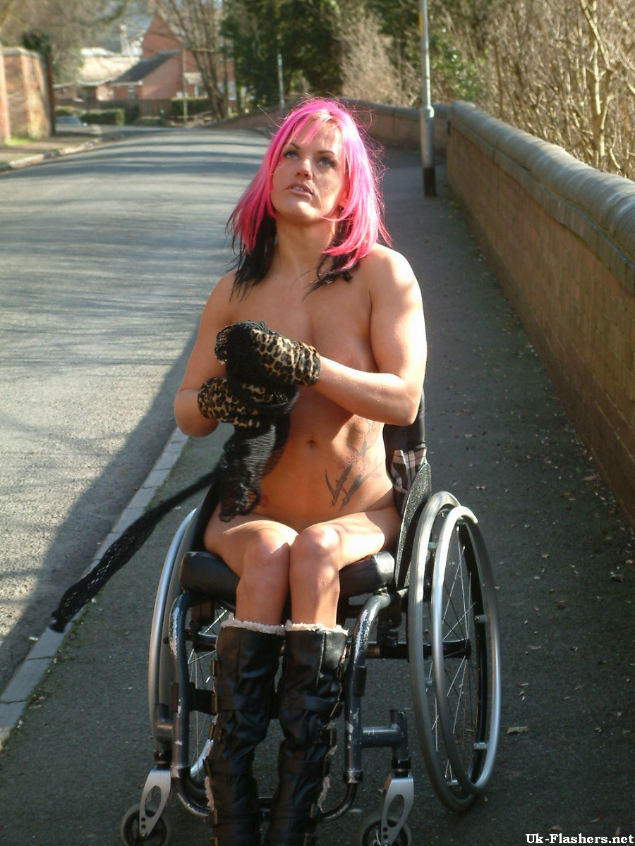Hot Girl In Wheelchair