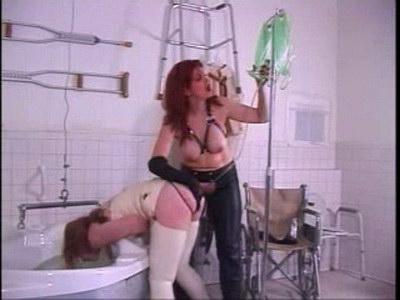 Lesbian medical bondage