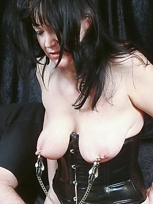 Mature bdsm movies of kinky China in extreme pussy torture and nipple clamp punishments from The Pain Files