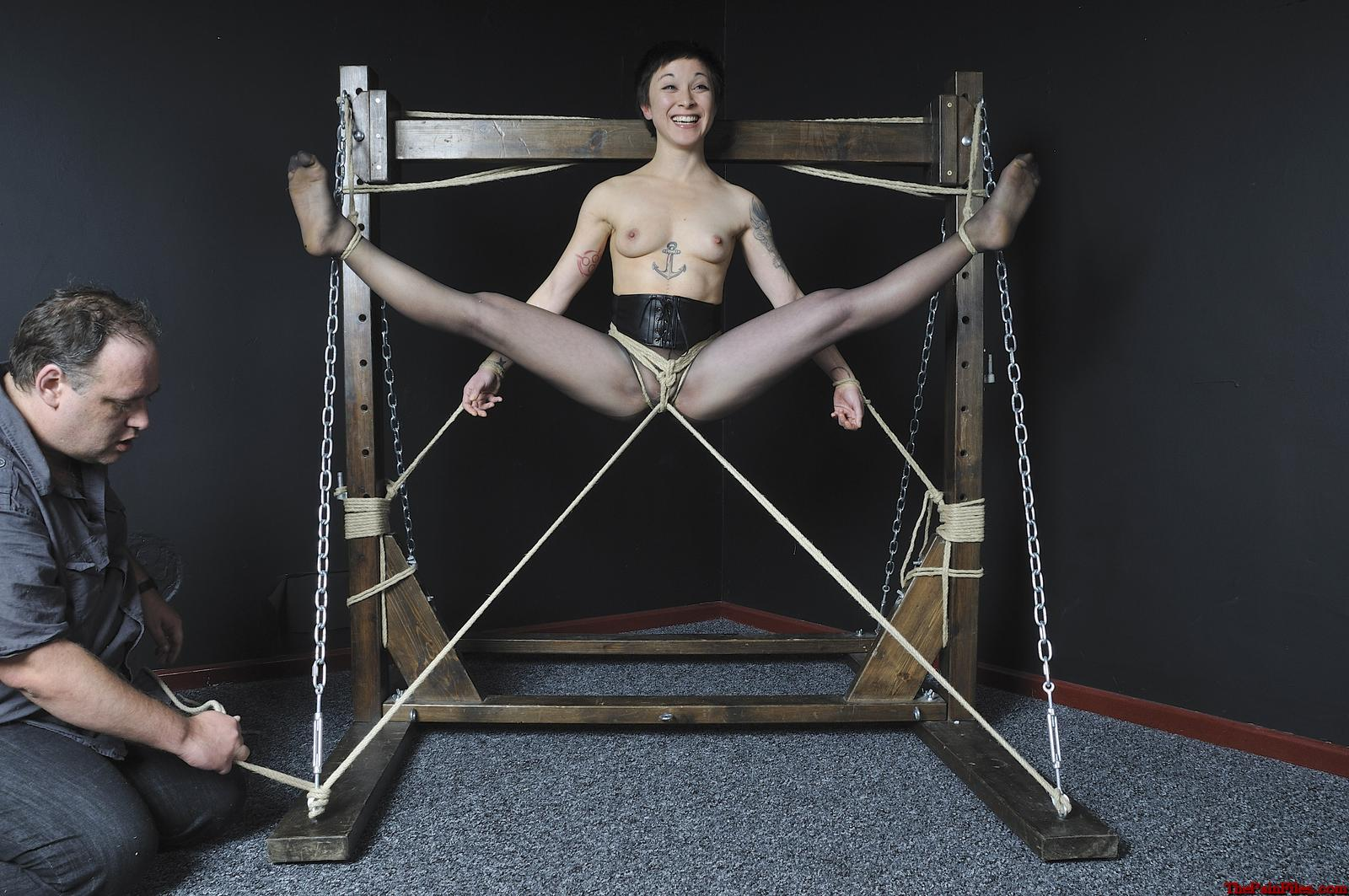 Agree with Gagged hogtied suspended asians that