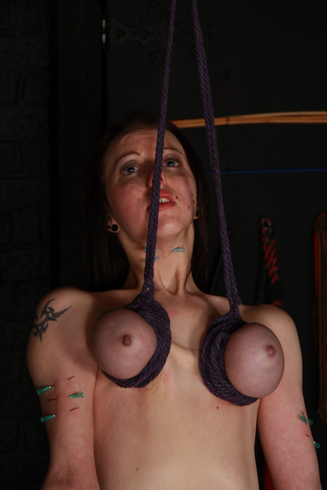 Tits pierced fetish