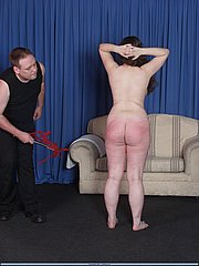 Painful spankings and whippings of slavegirl Nimue from The Pain Files