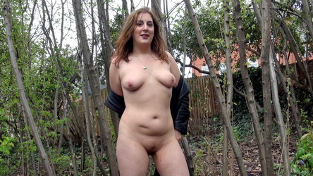 Outdoor Amateur Redhead Jana Peeing In Public And Homemade Housewife