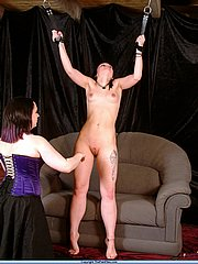 Slavegirl Pixie and Mistress Nimue