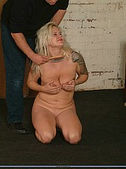 Rough spankings and humiliation torments of Cherry from The Pain Files