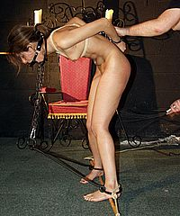 Sahara Knite nude whipping in indian bdsm of famous GOT pornstar from Shadow Slaves