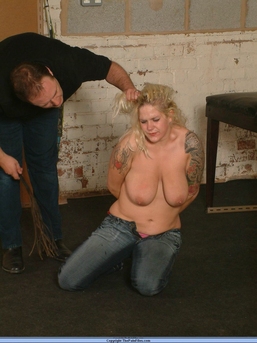 Spanked and humiliated