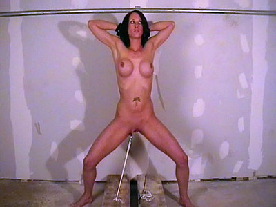 Big breasted bdsm slavegirl Daniella in extreme stretched pussy pain and whipping punishments from The Pain Files