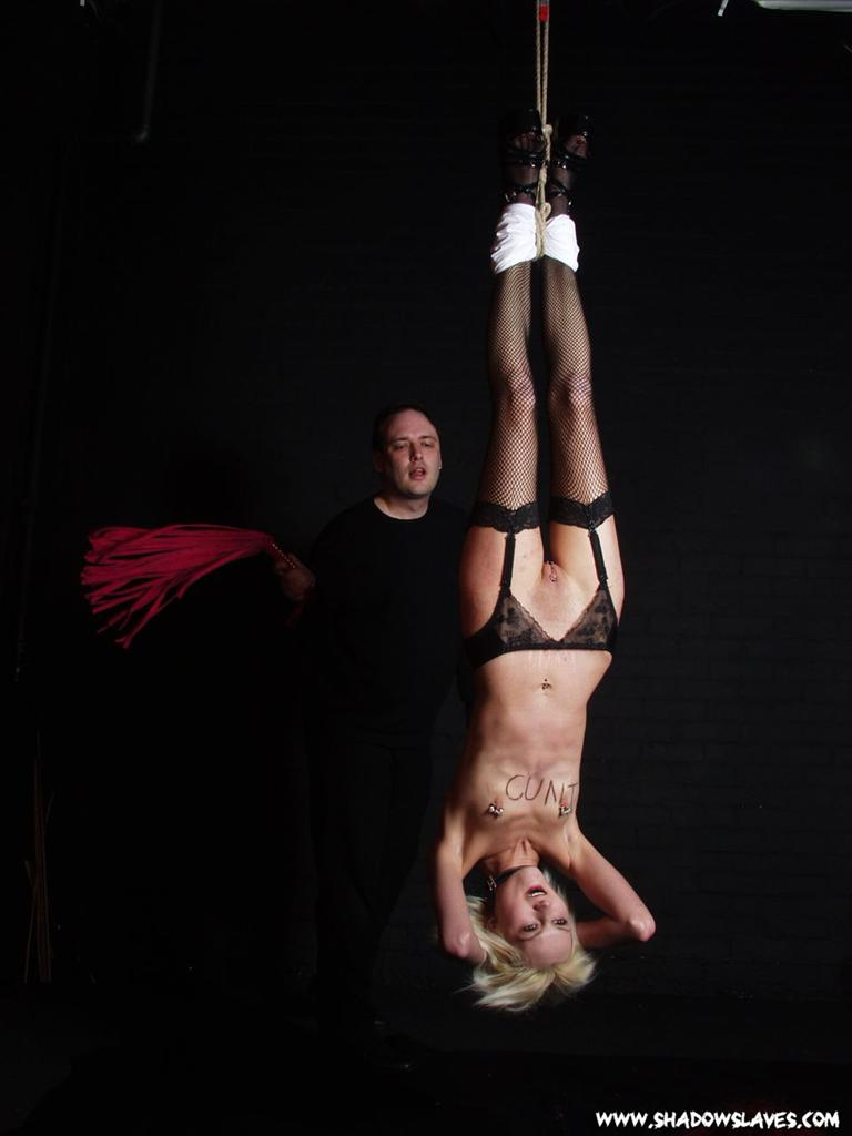 feet female suspension bondage