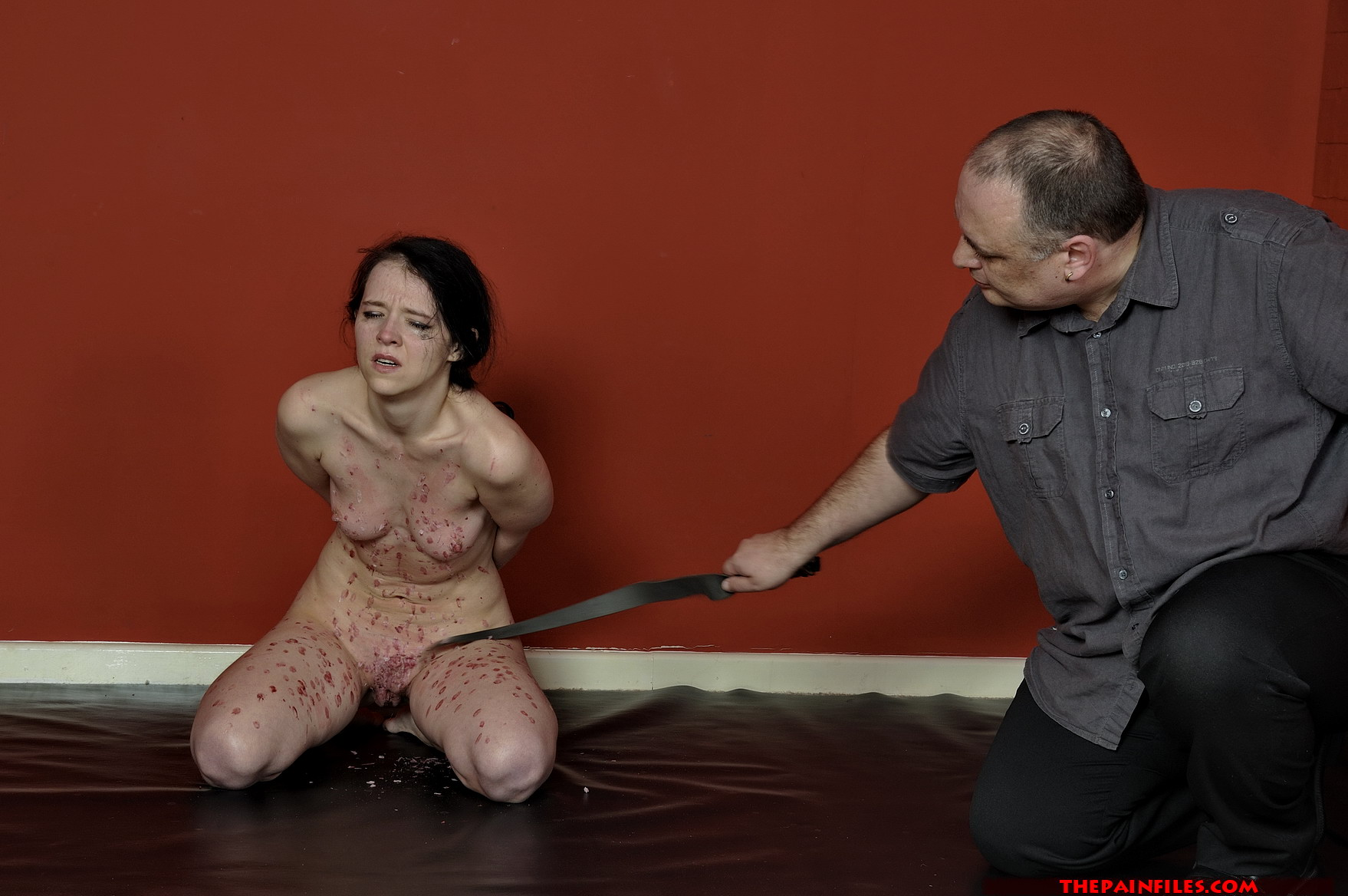 Young girl torture thanks