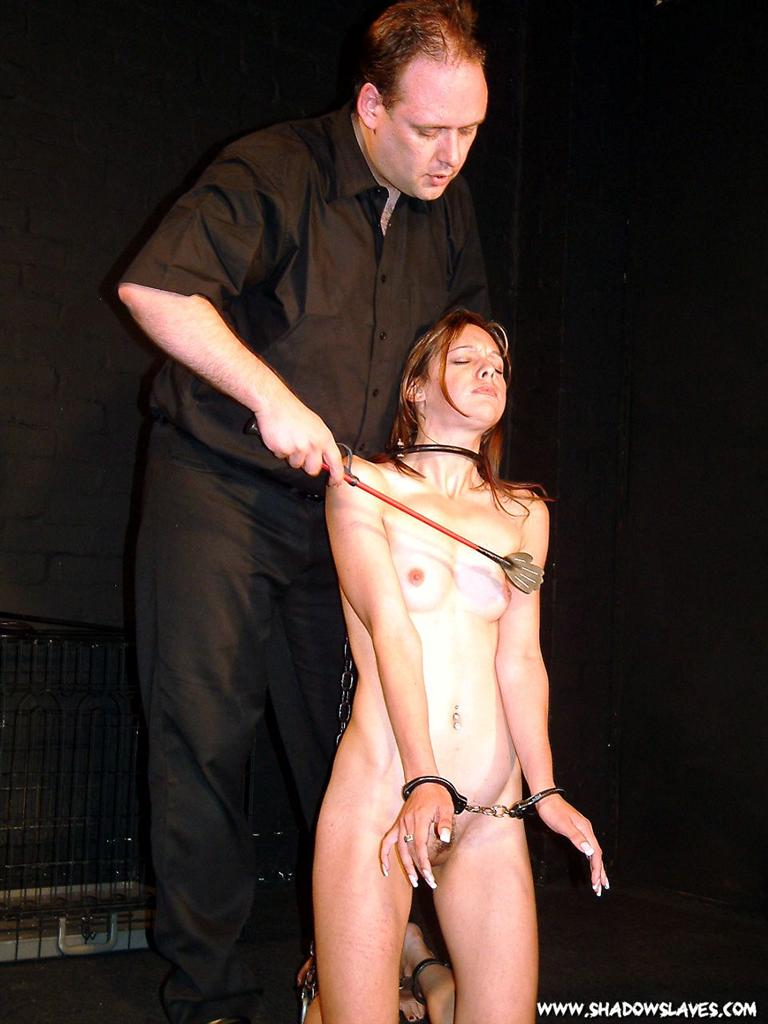 One submissive slaves porn rack!