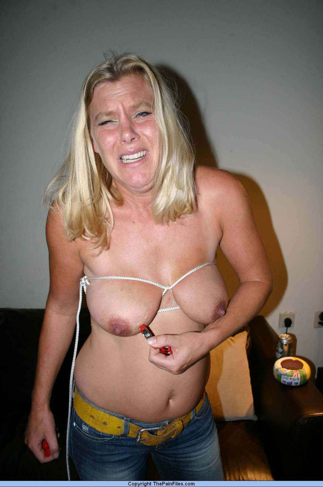 Silicone free huge tits