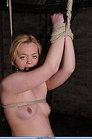 Slavegirls Tied and Tit Tormented