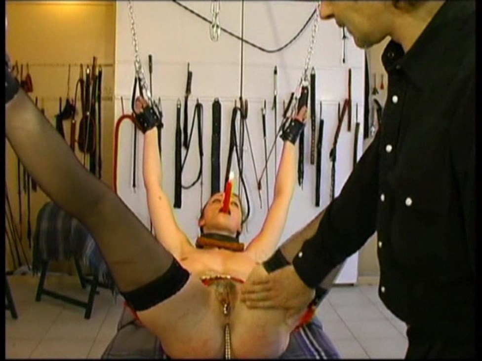 Tormented Slave Serves Her Master