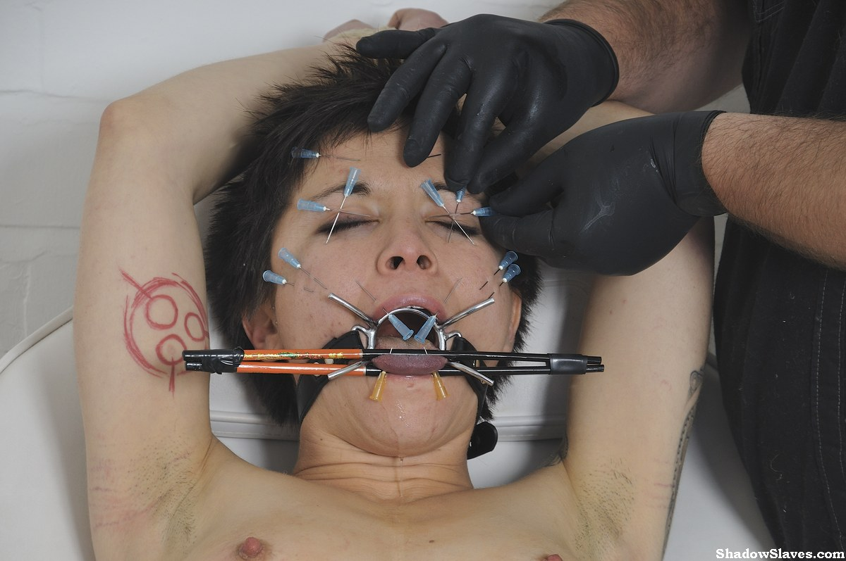Asian slave mei maras medical fetish and play piercing bdsm 6