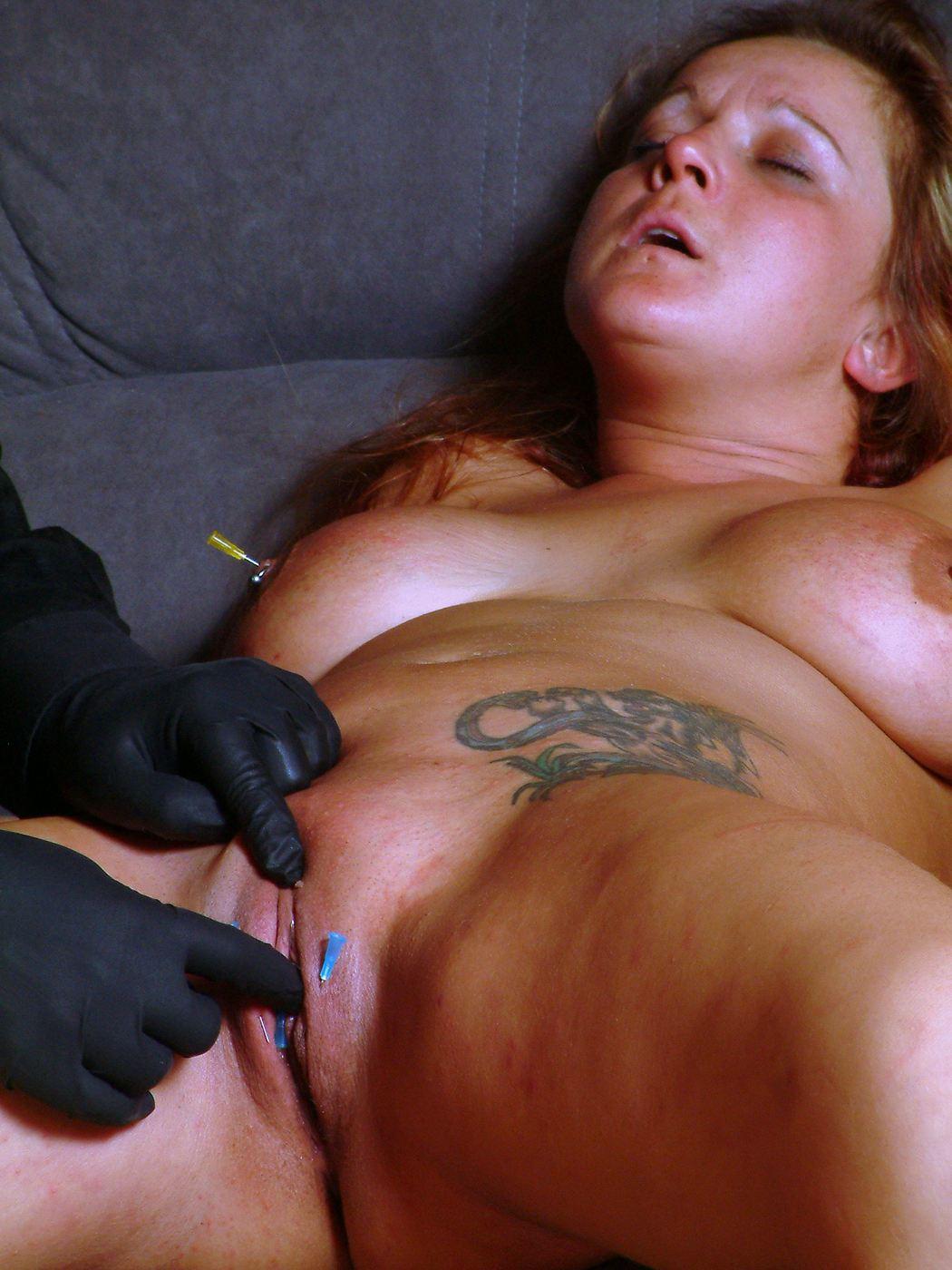 BDSM pain porn